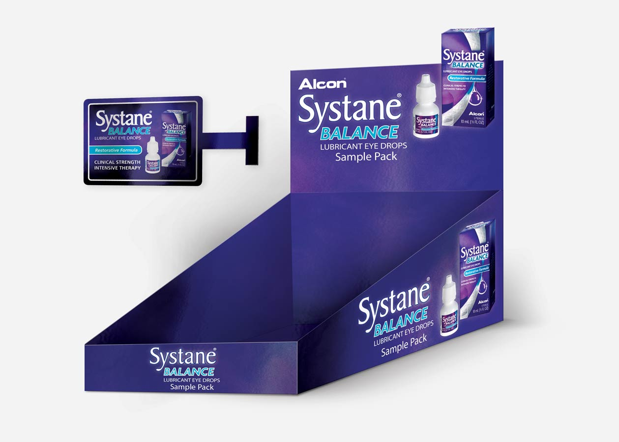 Alcon Systane Counter Unit