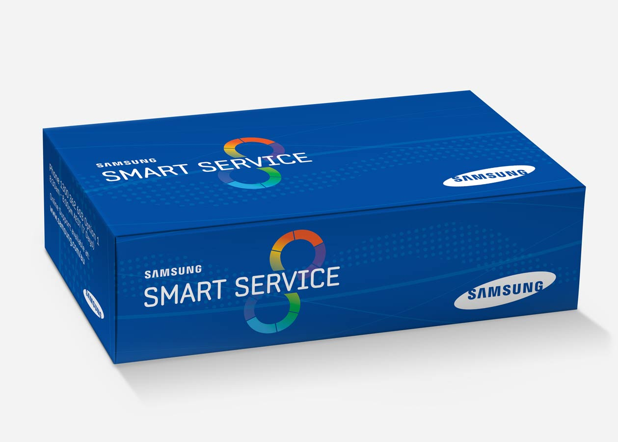 Samsung Smart Service Carton